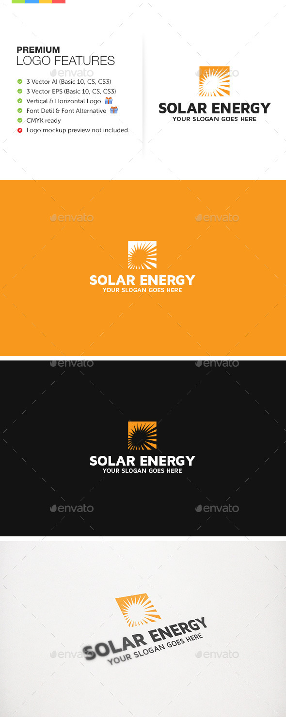 GraphicRiver Solar Energy Alternative 9204049