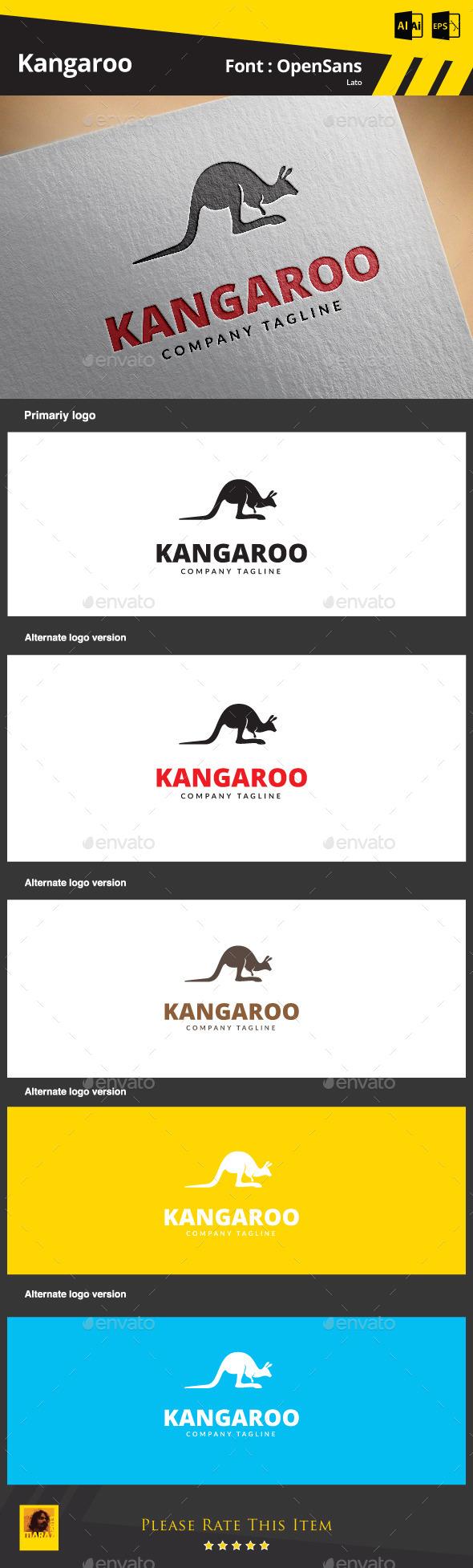 GraphicRiver Kangaroo Logo 9204061