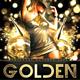 Golden Flyer - GraphicRiver Item for Sale