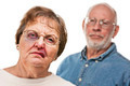 Battered and Scared Woman with Ominous Angry Man Behind. - PhotoDune Item for Sale