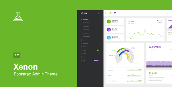 ThemeForest Xenon Bootstrap Admin Theme with AngularJS 9059661