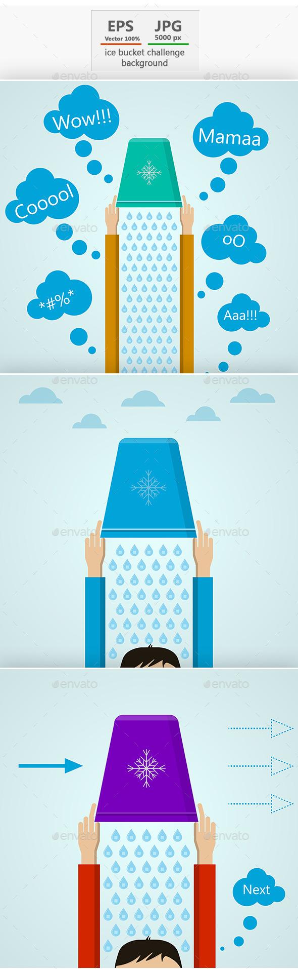 GraphicRiver Ice Bucket Challenge 9204375