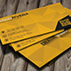 Yellow Creative Business Card - GraphicRiver Item for Sale