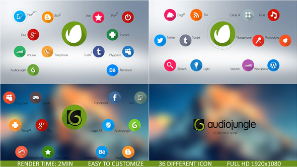 Icon motions
