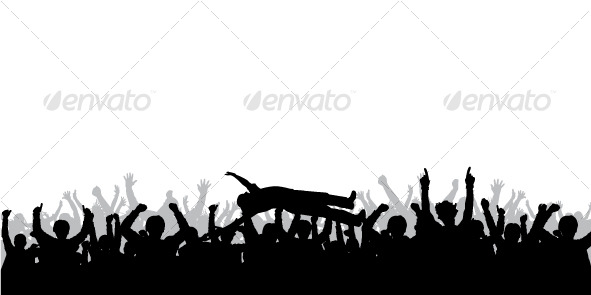 Concert crowd | GraphicRiver