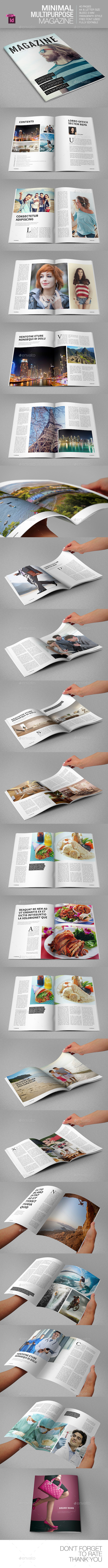 GraphicRiver Minimal Multipurpose Magazine 9204891