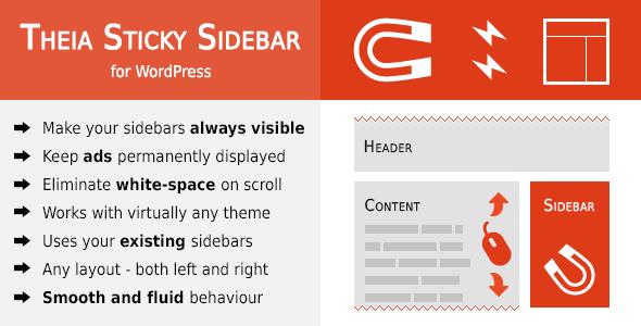 Theia Sticky Sidebar for WordPress