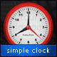 Enkel Clock App for Titanium - WorldWideScripts.net Element til salgs