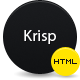 Krisp | HTML-CSS Portfolio Template - ThemeForest Item for Sale