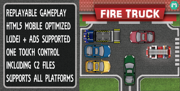 CodeCanyon Fire Truck 9205324