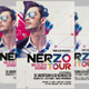 Nerzo Tour Flyer - GraphicRiver Item for Sale