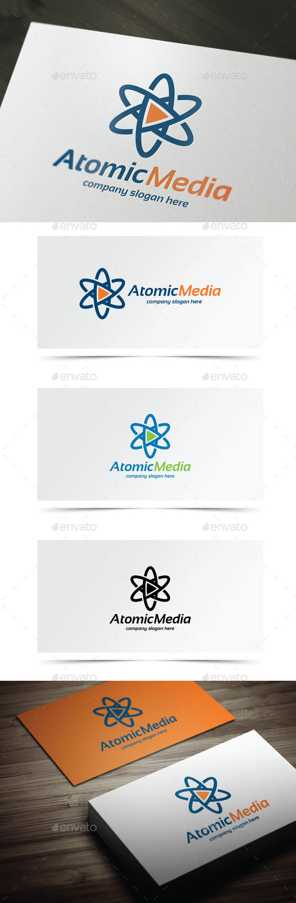 GraphicRiver Atomic Media 9205682