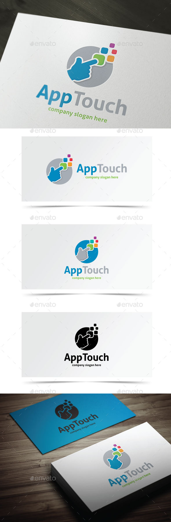 GraphicRiver App Touch 9205687