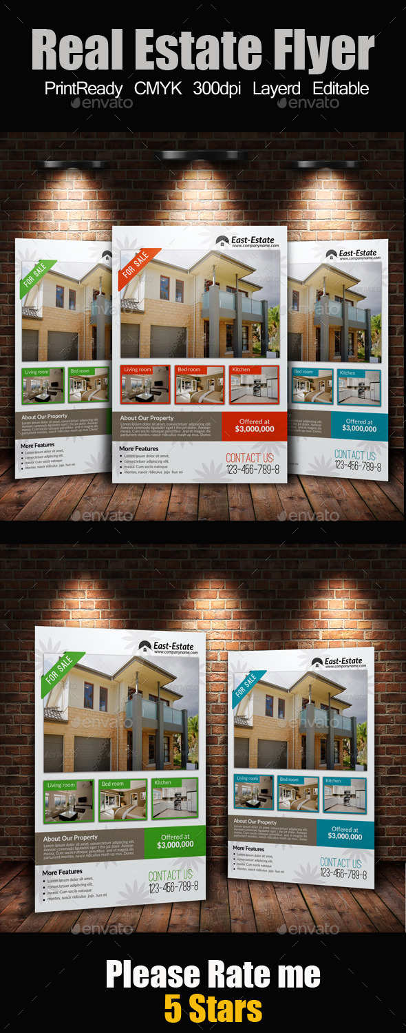 A4 Real Estate Flyer