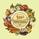 Vegetables Sketch Background - GraphicRiver Item for Sale
