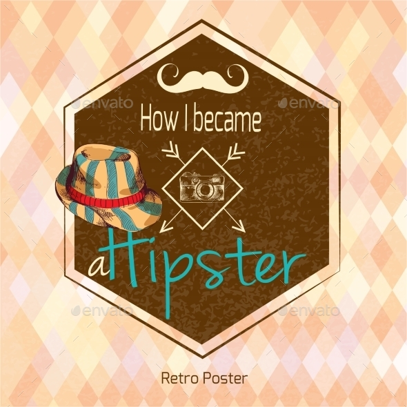 GraphicRiver Hipster Retro Poster 9205751