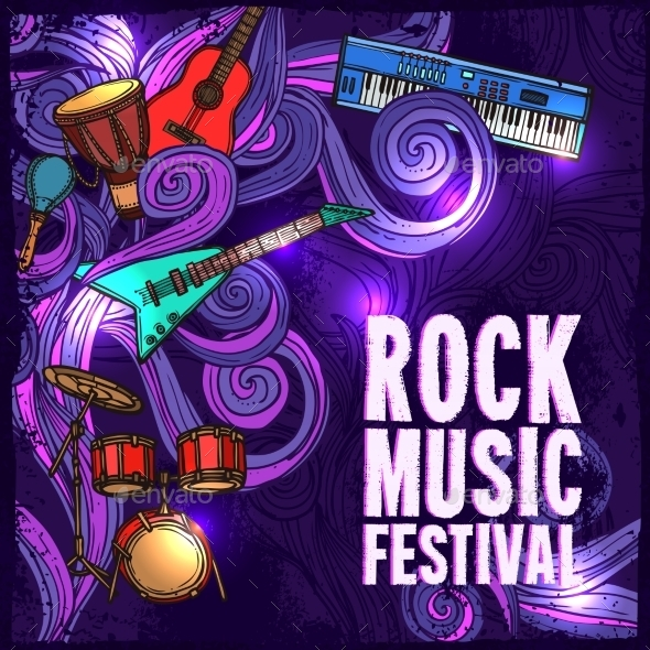 GraphicRiver Music Festival Poster 9205855