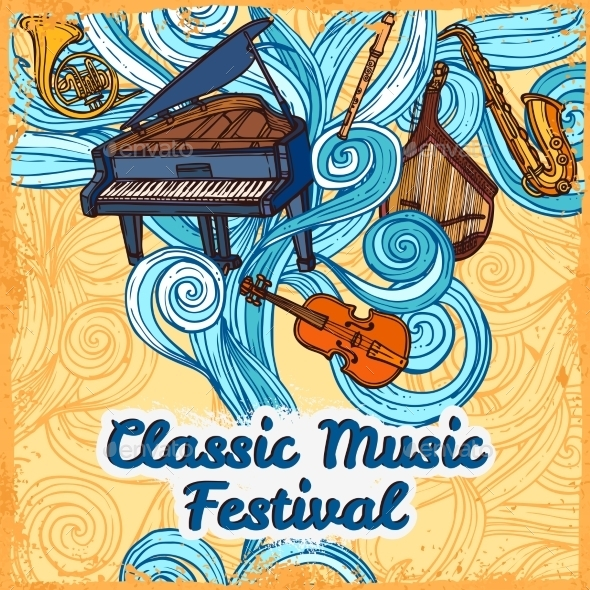 GraphicRiver Music Festival Poster 9205858