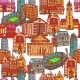 Sketch City Seamless Pattern - GraphicRiver Item for Sale