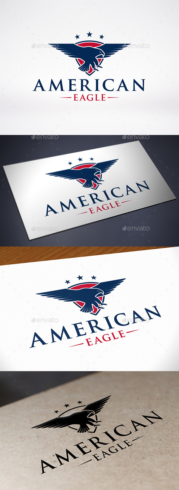 GraphicRiver American Eagle Logo 9205882