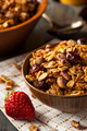 Healthy Homemade Granola with Nuts - PhotoDune Item for Sale