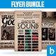 Music Flyer Bundle - GraphicRiver Item for Sale