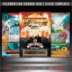 Celebration Sounds Flyer Bundle Vol. 1 - GraphicRiver Item for Sale