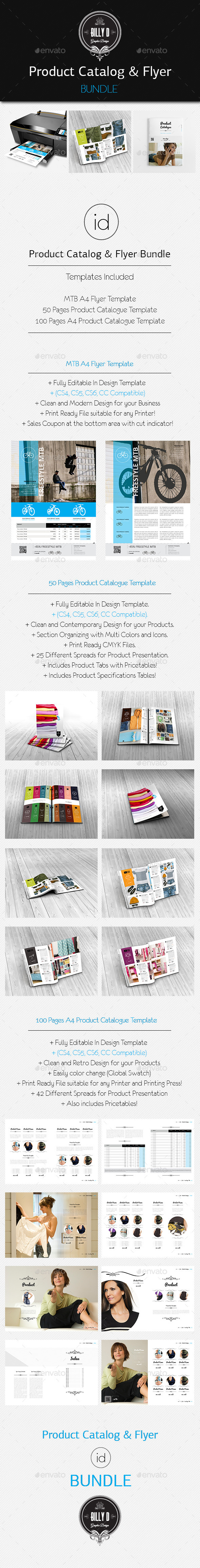 GraphicRiver Product Catalog & Flyer Bundle 9206955