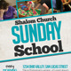 Sunday School Church Flyer - GraphicRiver Item for Sale