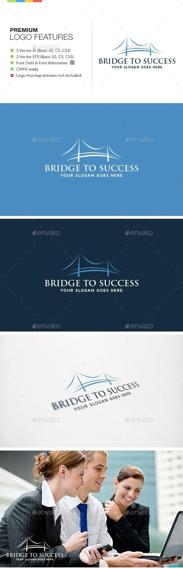 GraphicRiver Bridge to Success 9207188