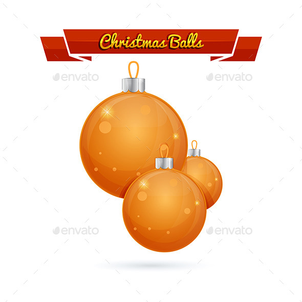 GraphicRiver Christmas Balls 9207383