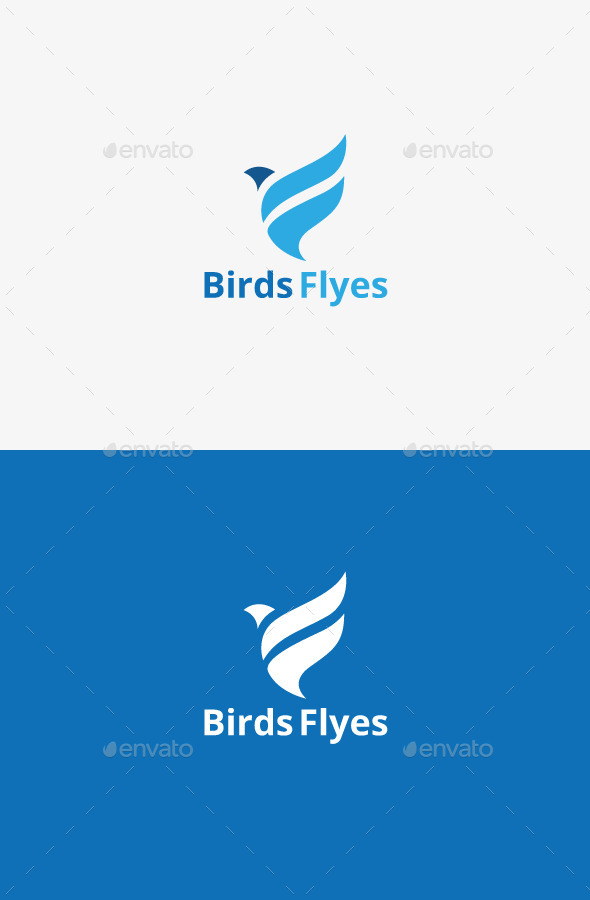 GraphicRiver Birds Flyes 9207514