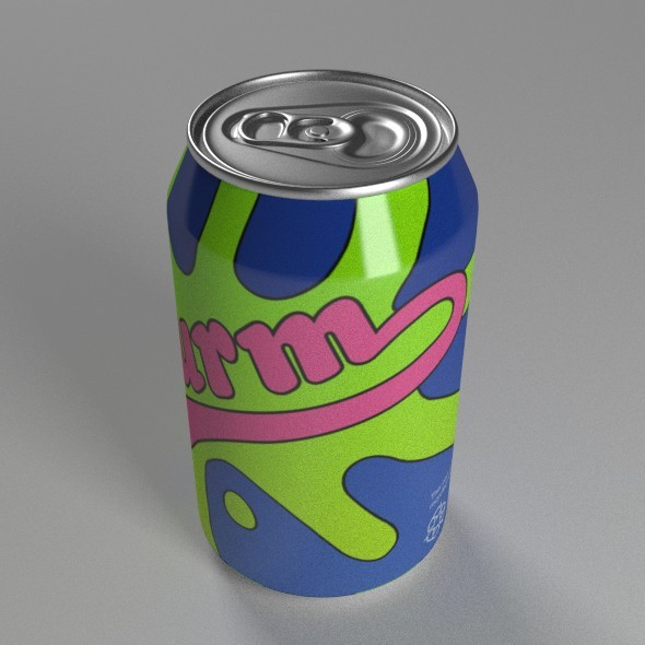 Slurm Soda Can - 3DOcean Item for Sale