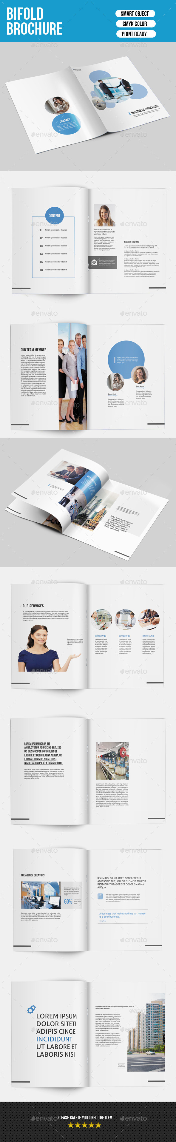 GraphicRiver Clean Business Brochure-V147 9207569