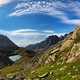 Cirrus clouds over the mountain tundra - PhotoDune Item for Sale