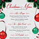 Christmas Eve Menu Template - GraphicRiver Item for Sale