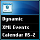 Dynamic XML Flash Events Calendar AS 2.0 Version - ActiveDen Item for Sale