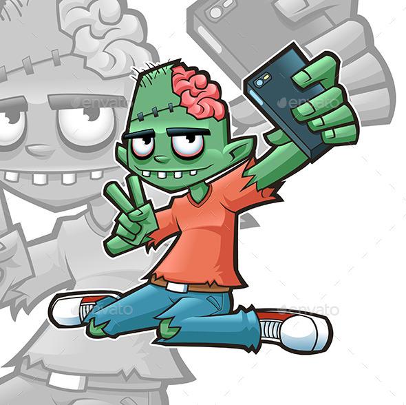 GraphicRiver Selfie Zombie 9207614