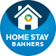 Home Stay Web Banners - GraphicRiver Item for Sale