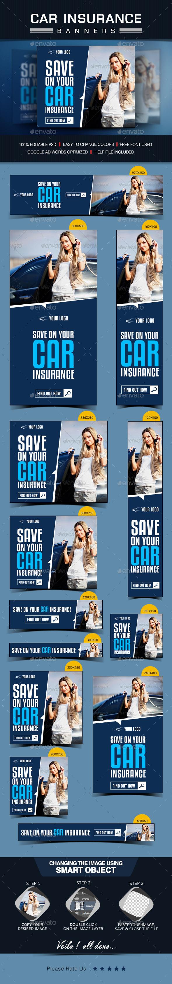 GraphicRiver Insurance Banner Design 9207958