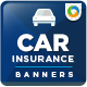 Insurance Banner Design - GraphicRiver Item for Sale