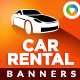 Car for Rent Banners - GraphicRiver Item for Sale