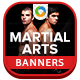 Martial Arts Banner Design - GraphicRiver Item for Sale