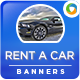 Rent a Car Banners - GraphicRiver Item for Sale