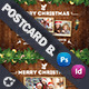 Christmas Postcard Bundle Templates - GraphicRiver Item for Sale