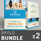 Travel / Tourism Bi-Fold Brochure Bundle | v1 - GraphicRiver Item for Sale