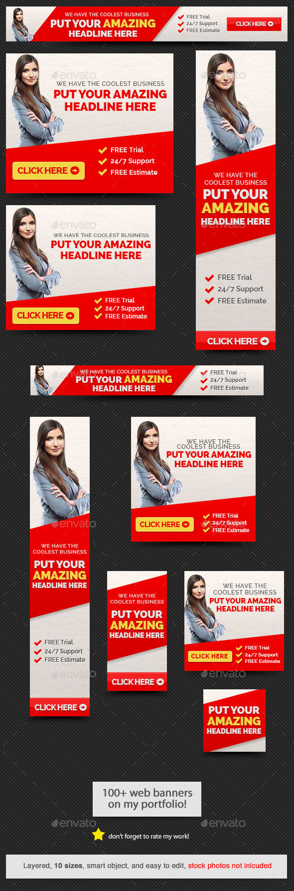 GraphicRiver Amazing Web Banner 9208510