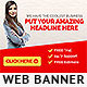 Amazing Web Banner - GraphicRiver Item for Sale