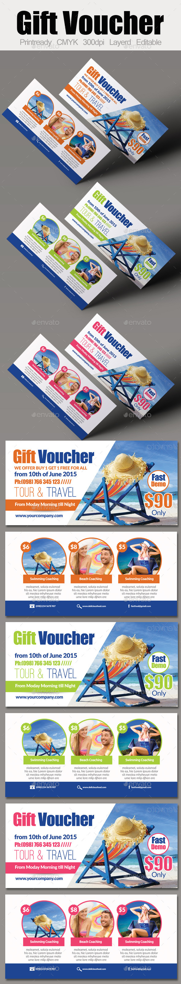 Tour Travel Gift Voucher