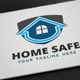 Home Safe Logo - GraphicRiver Item for Sale